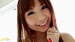Cute Mikuru Smiling Long Hair
