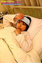 Japanese Teen Norika Makihara Ill In Hospital Bed