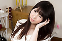 Shaved small breasts cutie Miku Oguri stripping dress